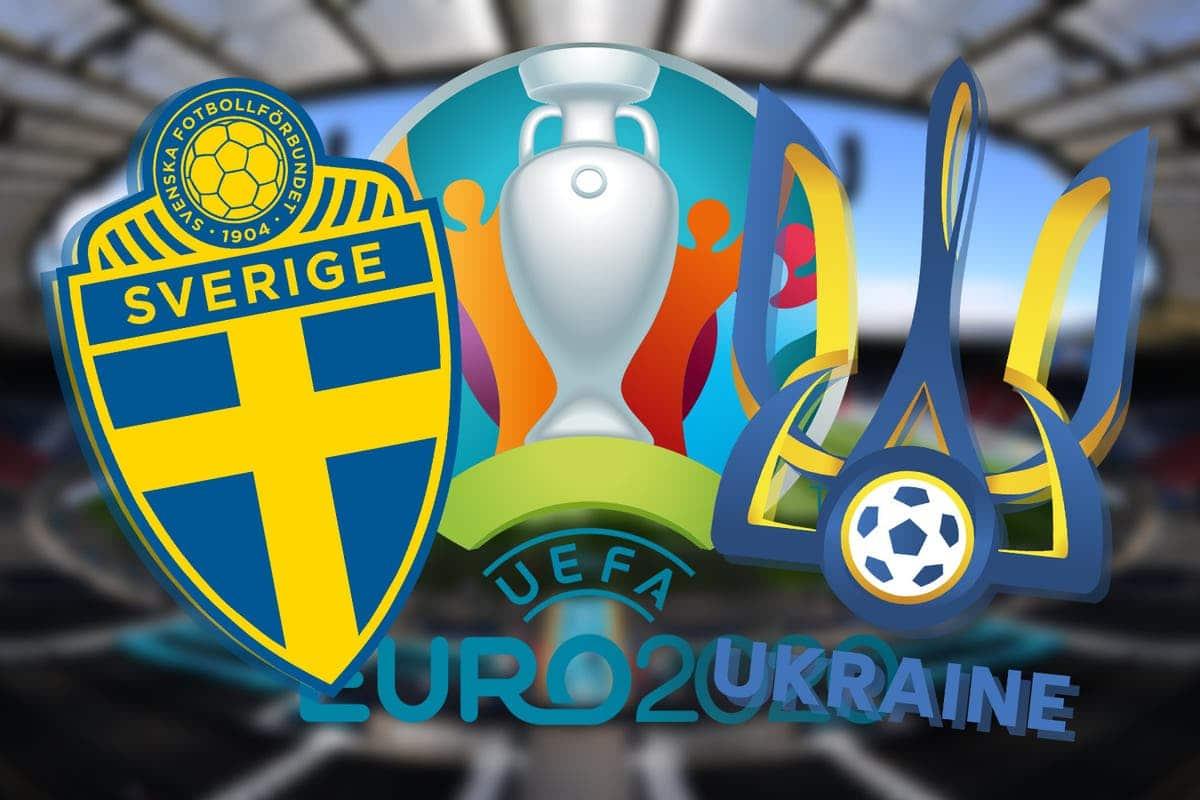 Sweden 2-1 Ukraine : Ukraine will play England in the quarters