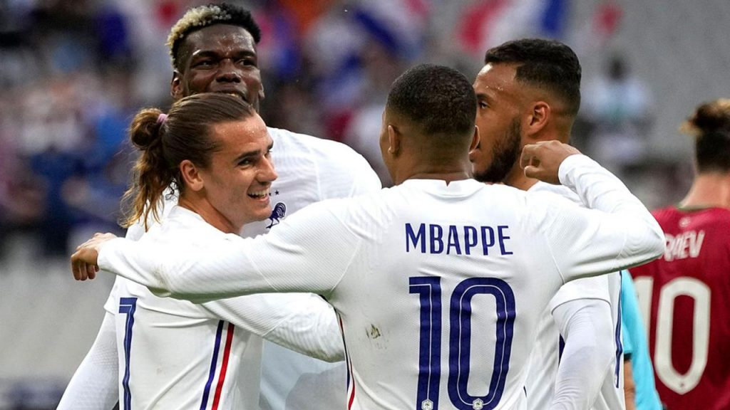 La France s'est imposée 3-0 contre la Bulgarie
