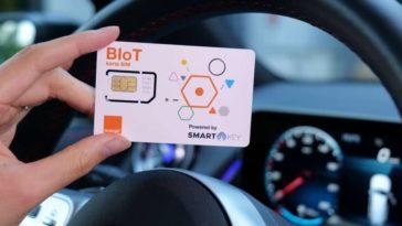 Révolution : Smartkey et Orange proposent une carte SIM Blockchain.