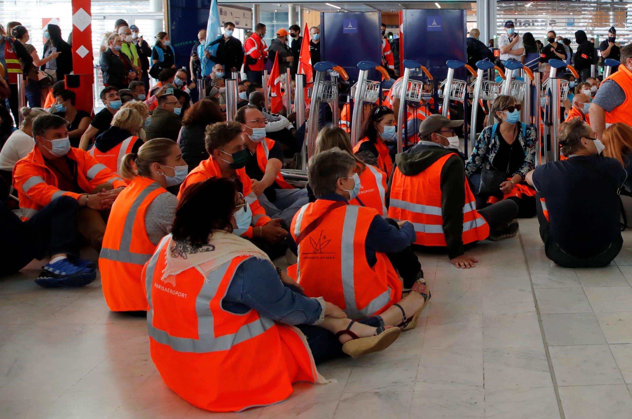 Aéroports de Paris : Des retards sur certains vols en raison d'une grève !