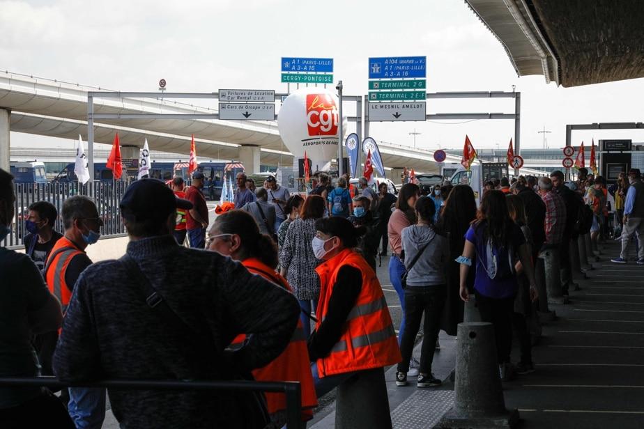 La grève continue à l'aéroport de Paris !