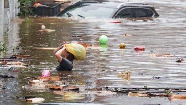 Belgique : Le pays en cours d'évacuation après les inondations !