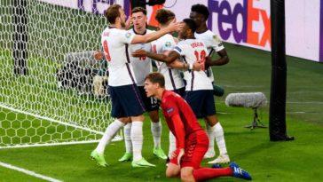 England 2-1 Denmark (ET) England against Italy in final!