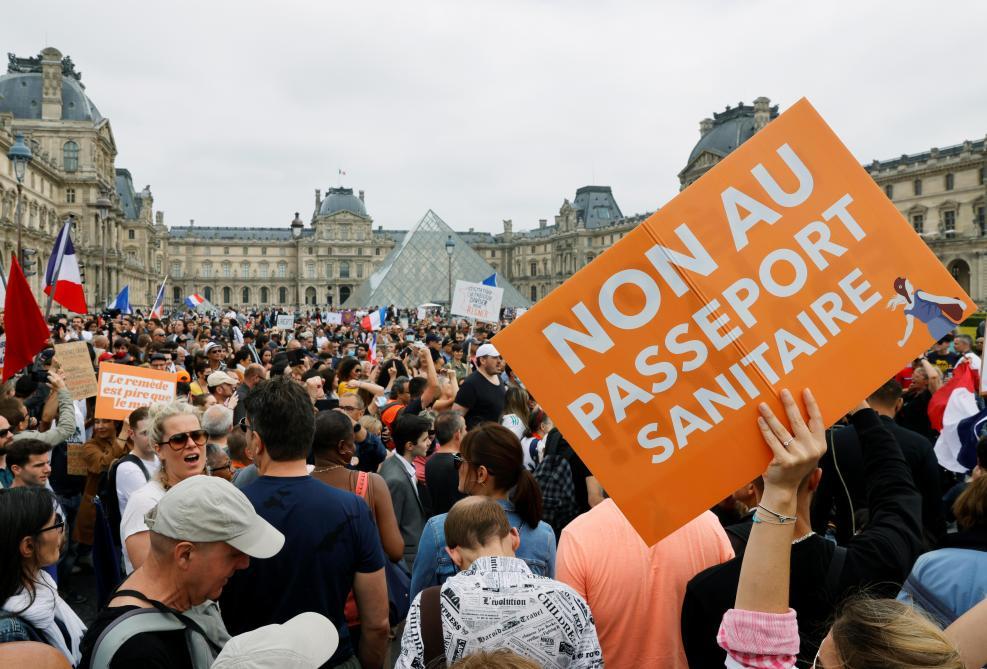 Des manifestations contre le Pass sanitaire !
