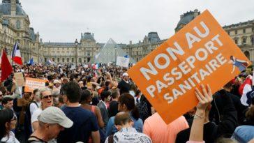 France... Plusieurs manifestations contre le pass sanitaire ce samedi 24