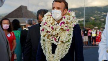 Emmanuel Macron. Premier Président à visiter les îles Marquises !