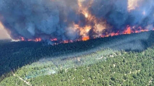 Canada. Lytton, où il a fait 49.6°c, est entièrement détruit par les incendies