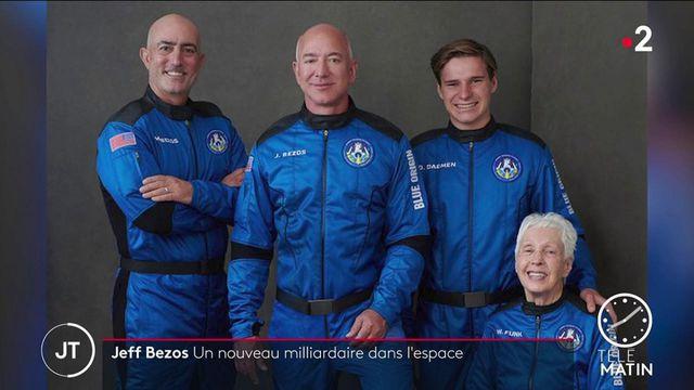 Jeff Bezos : Le fondateur d'Amazon a réussi son vol vers l'espace