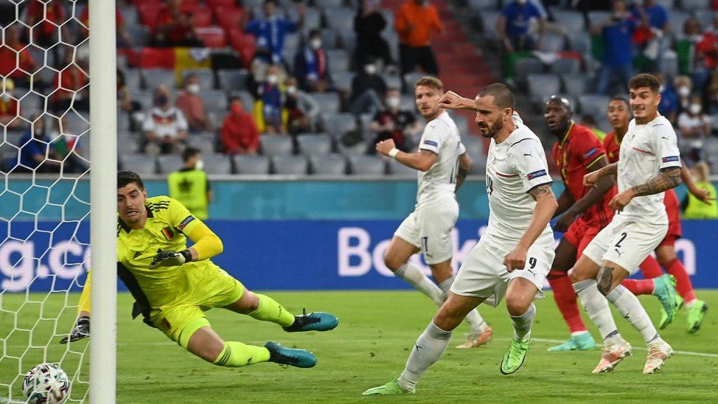 Belgique 1-2 Italie :