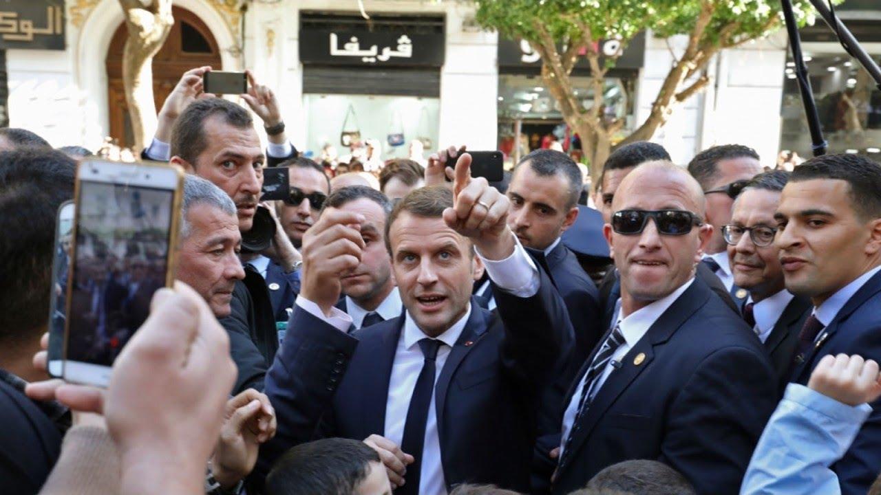Emmanuel Macron apostrophé lors d'une visite au sanctuaire de Lourdes