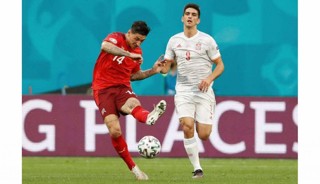 Switzerland 1-1 Spain