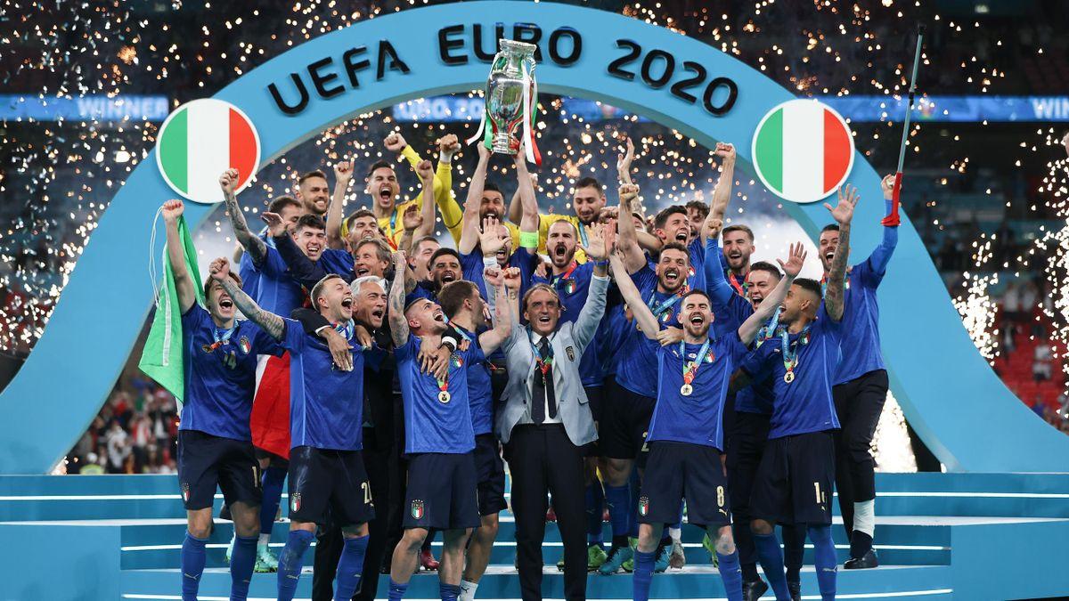 L'Italie remporte l'Euro! Angleterre 1-1 Italie. t.a.b (2-3)