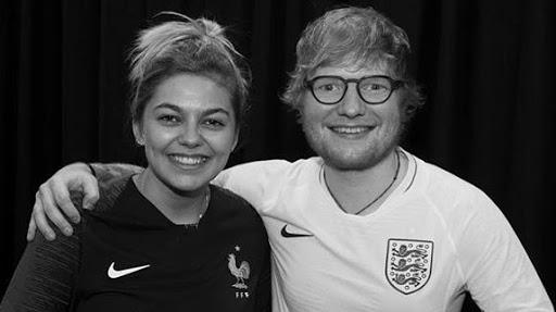 """Ed Sheeran... Le chanteur prépare un duo avec Louane... """"Je l'adore"""" !"""