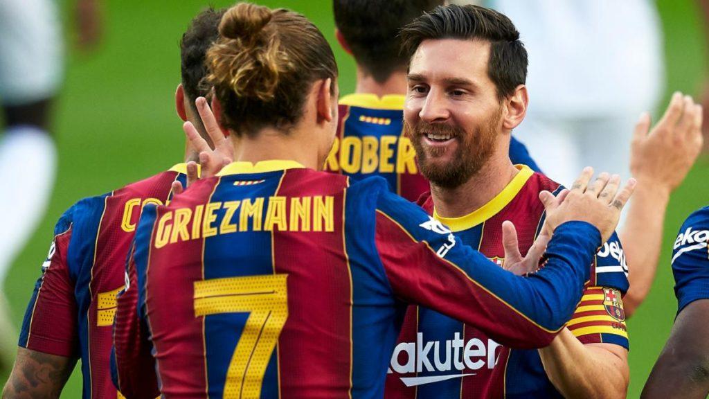 Lionel Messi, un exemple pour Antoine Griezmann