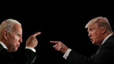 Donald Trump : « Il est temps que Joe Biden démissionne »