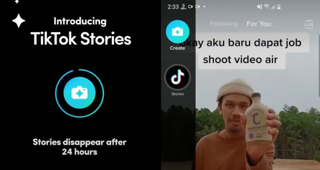 TikTok stories