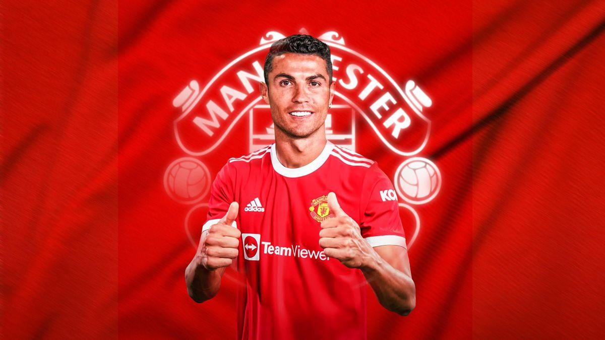 Cristiano Ronaldo revient à Man U découvrez son nouveau salaire !