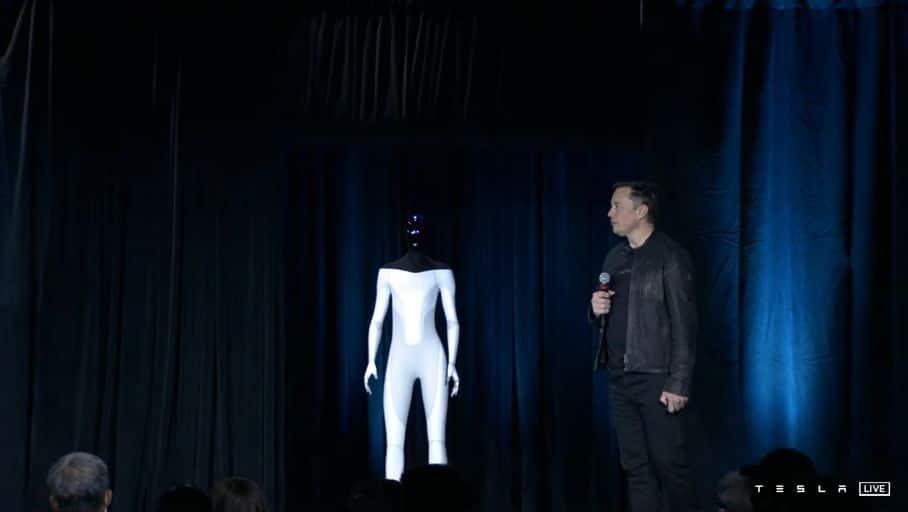 Elon Musk dévoile Tesla Bot, le robot humanoïde de l'avenir !