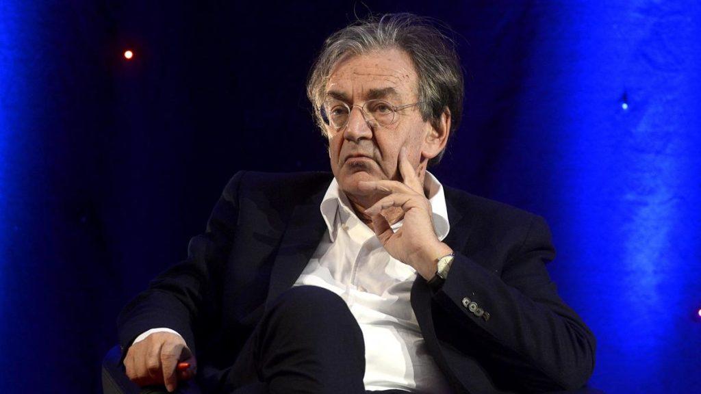 Le philosophe Alain Finkelkraut