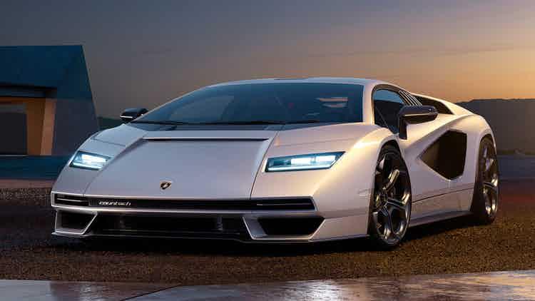 Lamborghini : La Countach à plus d'1 million, déjà en rupture de stock !