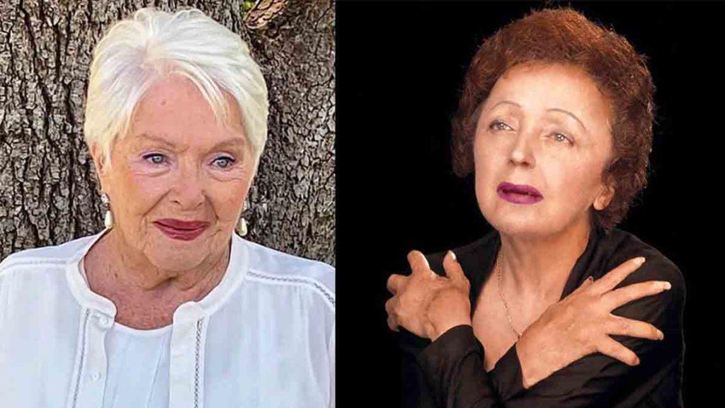 Line Renaud et Edith Piaf