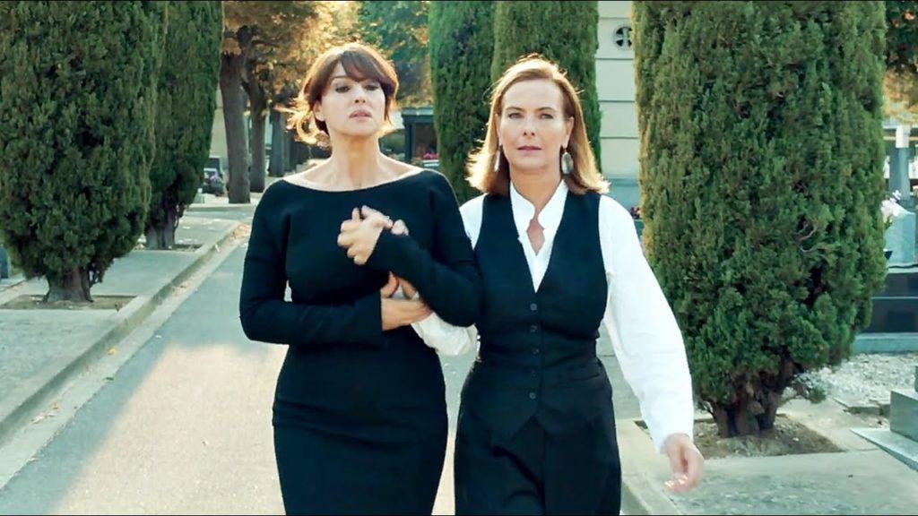 """Monica Bellucci """"terriblement séduite"""" par Carole Bouquet"""