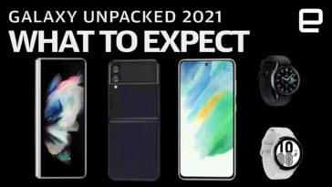 Samsung Unpacked : Les tout nouveaux gadgets du fabricant coréen