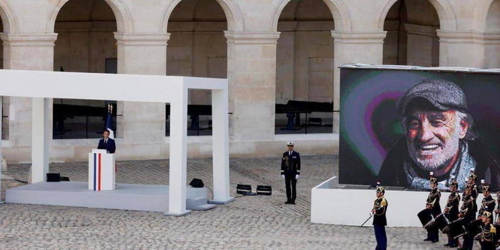 "Emmanuel Macron : ""Belmondo, c'est la tendresse"""