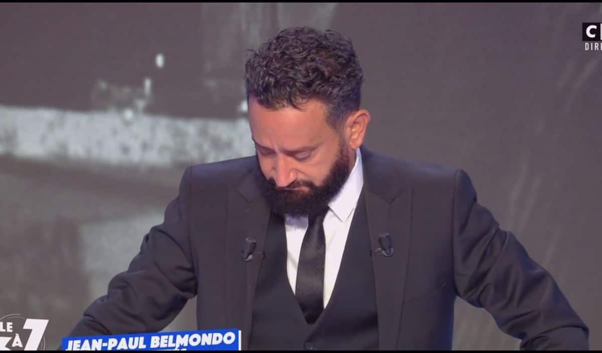 Cyril Hanouna en larmes, il évoque son regret avec Jean-Paul Belmondo