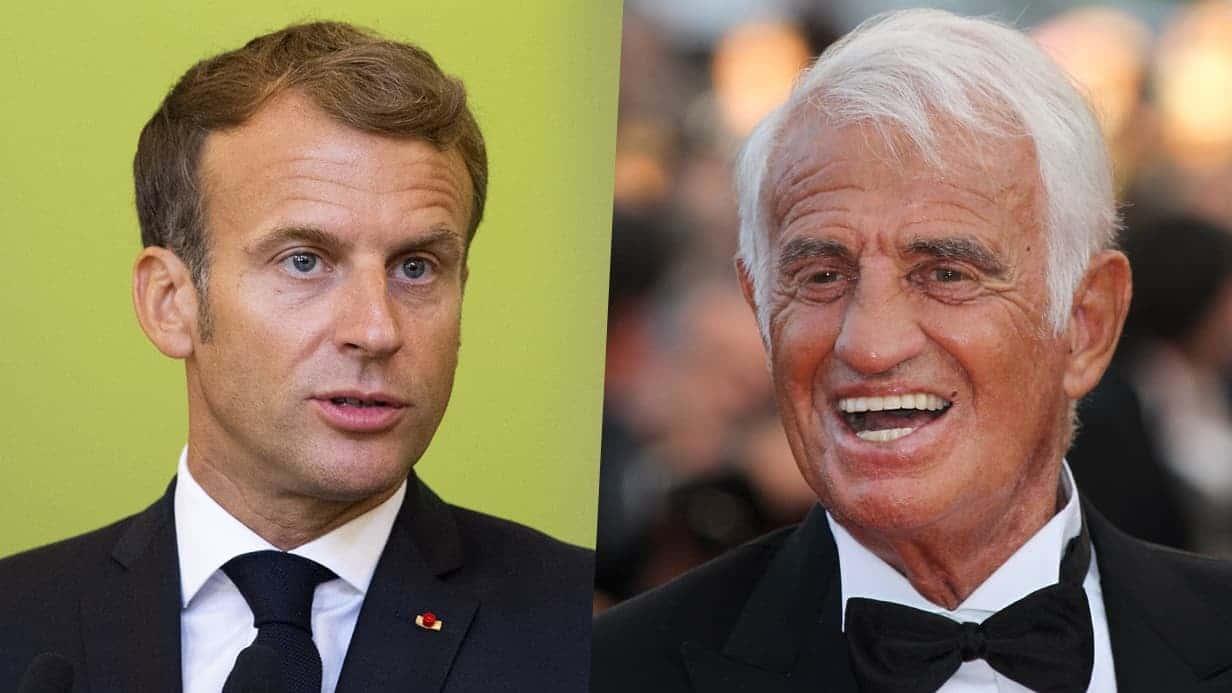 Emmanuel Macron : Ce souvenir inoubliable avec Jean-Paul Belmondo