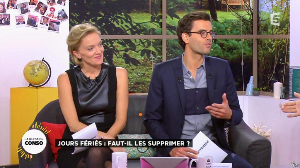Maya Lauqué sur France 5
