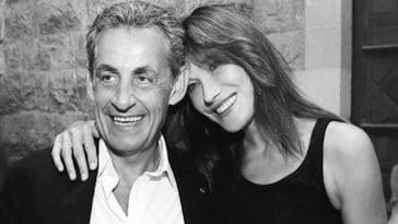 """Carla Bruni : Cette """"délicieuse soirée""""passée en compagnie de son mari"""