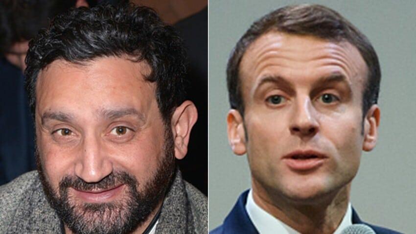 Cyril Hanouna : Ce jour où Emmanuel Macron demandait un selfie avec lui.