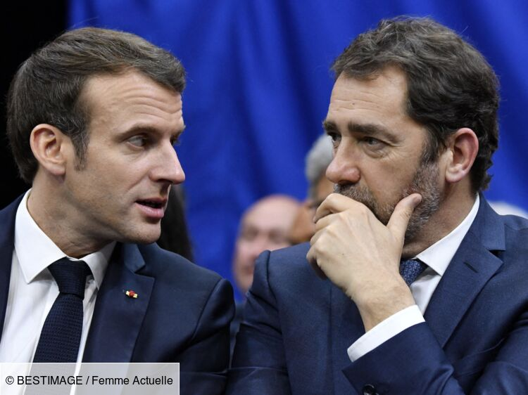 Christophe Castaner et Emmanuel Macron