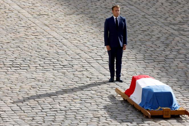Jean-Paul Belmondo faisait partie de la vie privée d'Emmanuel Macron