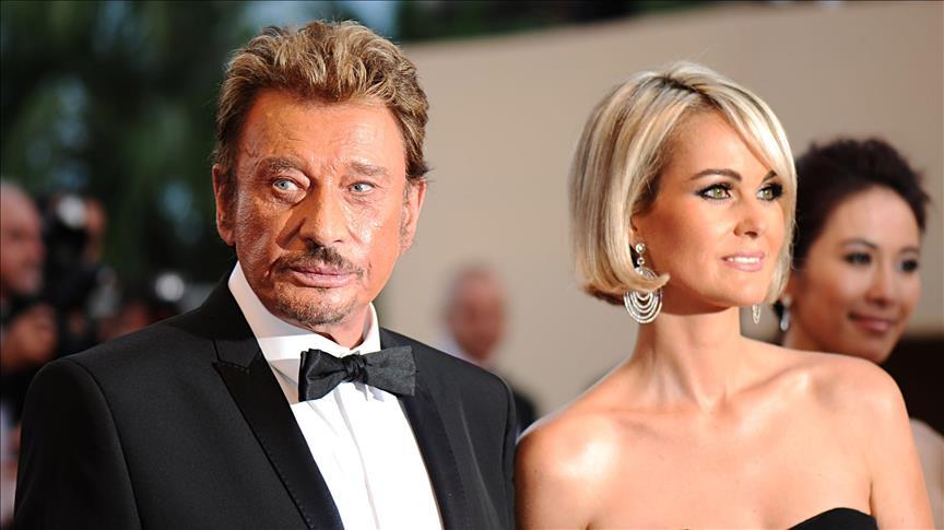 le couple Laeticia Johnny