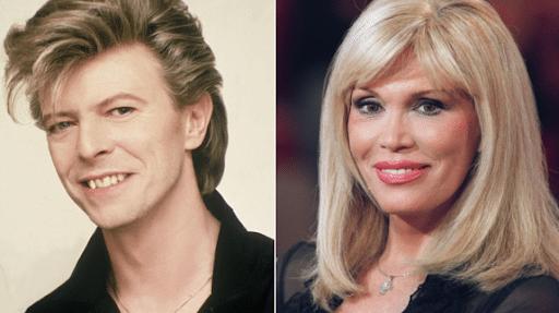 Une relation amoureuse entre Amanda Lear et David Bowie?