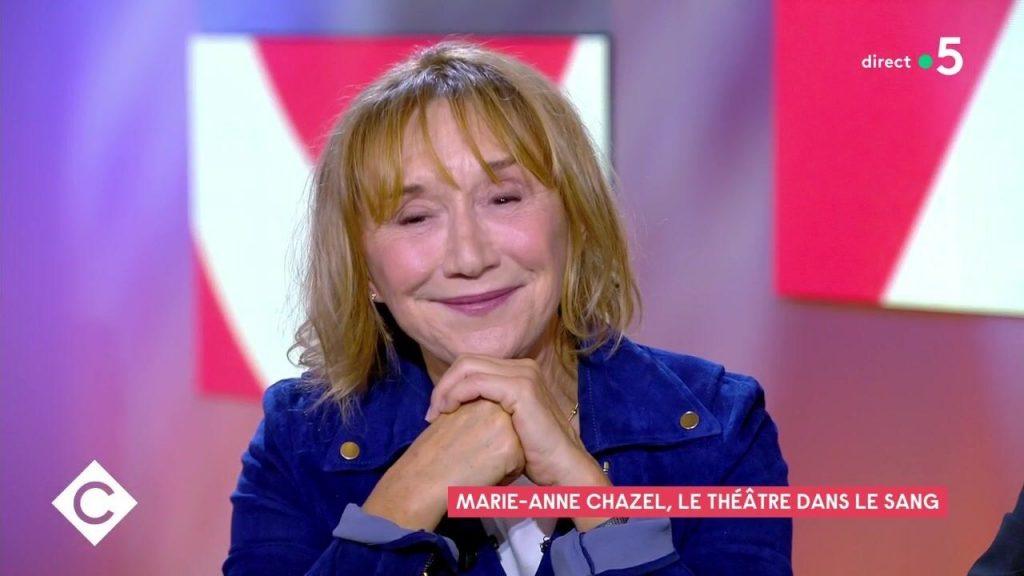 Marie-Anne Chazel dans C à vous