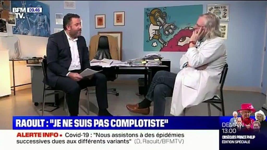 Didier Raoult  Vous me posez des questions intimes
