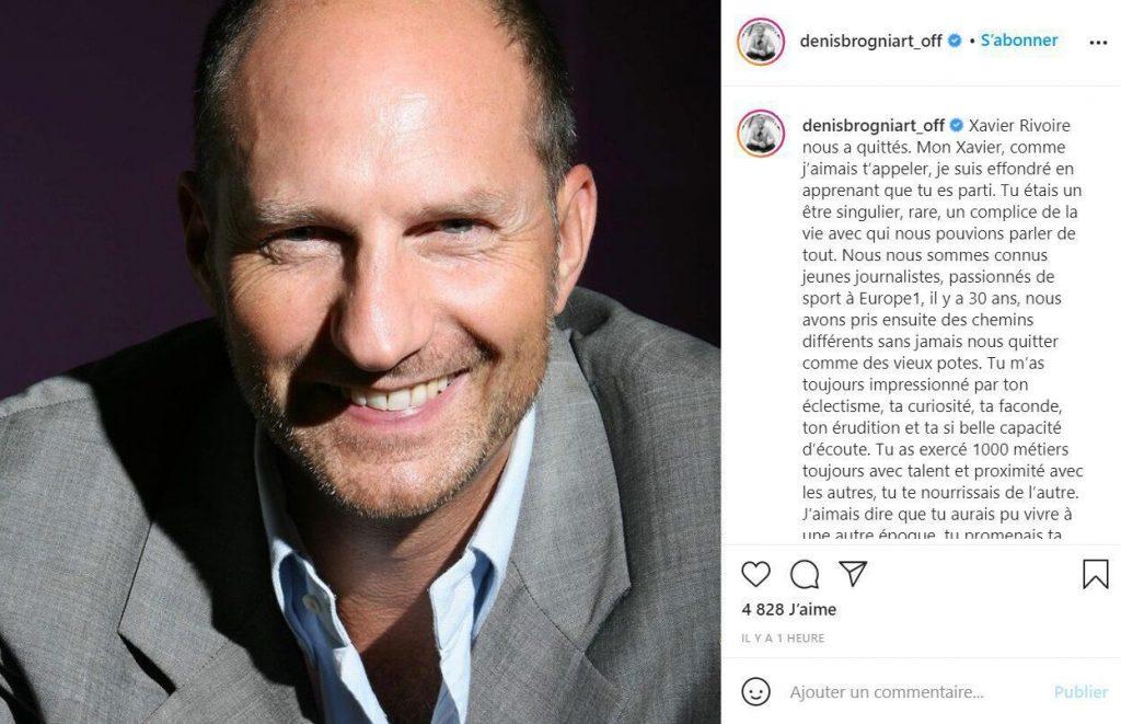 Denis Brogniart : un ami de longue date