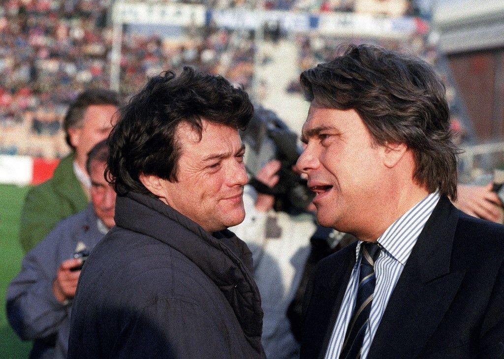 Bernard Tapie et Jean-Louis Borloo .. des amis de très longue date