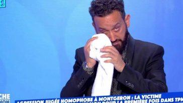 Cyril Hanouna ému, il fond en larmes devant un invité dans 'TPMP'