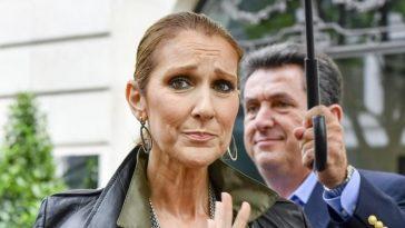 Céline Dion cœur brisé