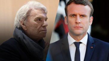 """Emmanuel Macron et son épouse """"touchés"""" par la mort de Bernard Tapie"""