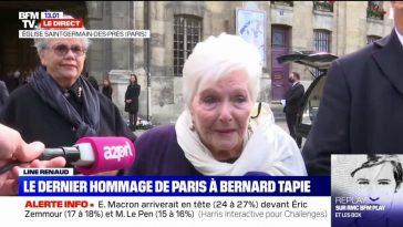 Line Renaud : L'actrice révèle son dernier échange avec Bernard Tapie