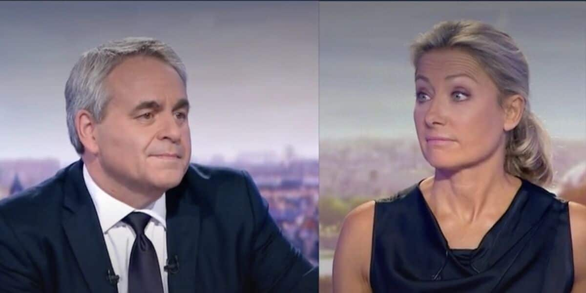 """Xavier Bertrand ridiculisé par Anne-Sophie Lapix …""""Elle l'a atomisé"""""""