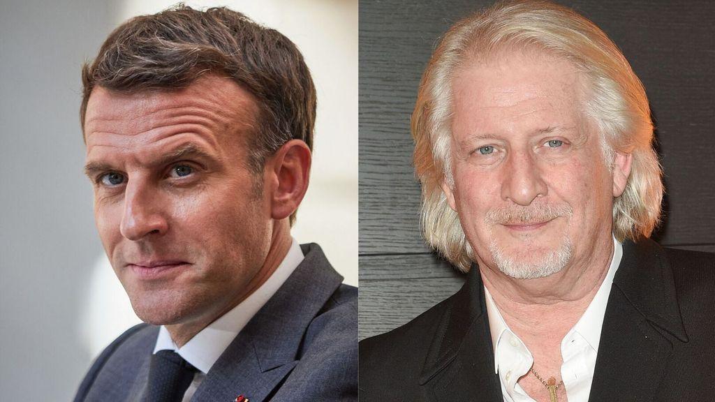 Une amitié discrète entre Patrick Sébastien et Emmanuel Macron