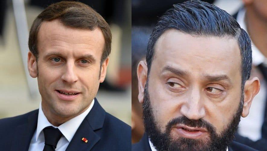 Emmanuel Macron plus proche de Cyril Hanouna