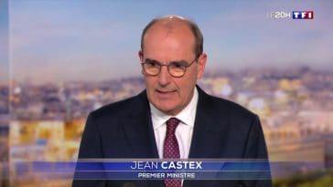 Jean Castex réagit á la condamnation de Nicolas Sarkozy dans le 20h