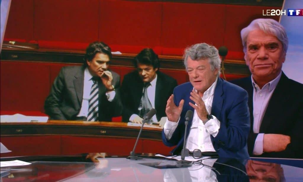 Bernard Tapie passionné par la vie publique